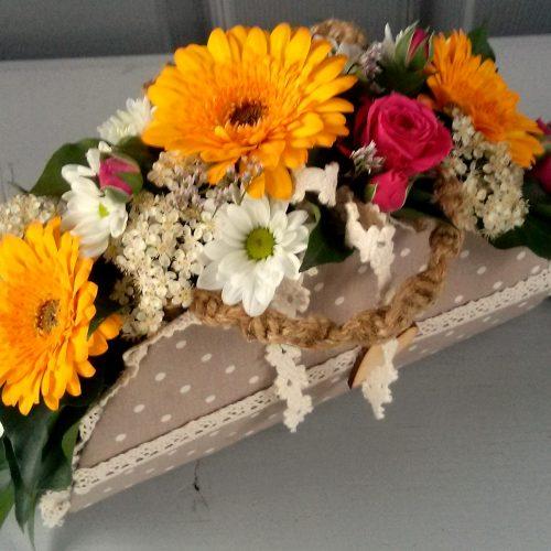 Virág ridikül