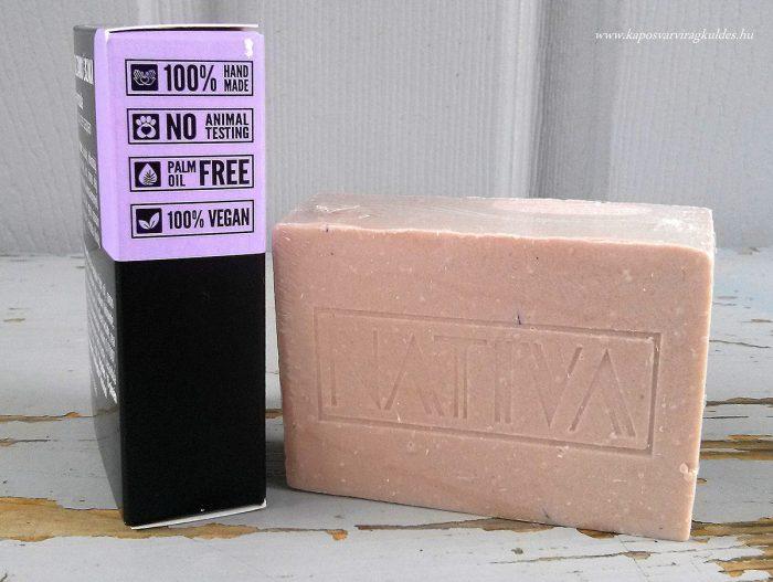 Levendula gyógyvizes szappan