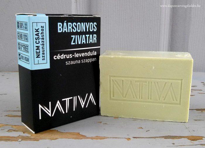 Cédrus-levendula szauna szappan