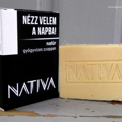 Natúr gyógyvizes szappan